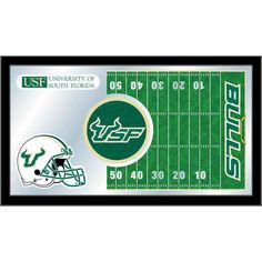 South Florida Bulls Football Field Wall Mirror