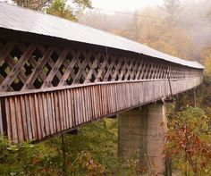 Covered bridge in Blount County, Alabama #coveredbridge #jacks #eatatjacks