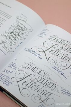 15 of best lettering & calligraphy books: Inspire and learn (beginner)