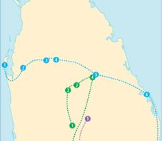 Find the best places to visit in Sri Lanka with Rough Guides: explore where to go, view itineraries and read about jungles, plantations and beaches.
