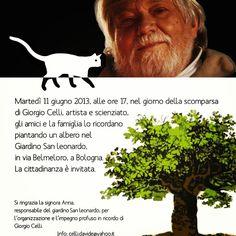 11 giugno ore 17 Un albero per Giorgio Celli