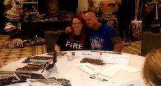 Best Selling Paranormal Romance Author Khloe Wren & Featured Cover Model John Joseph Quinlan @ 2015 World Famous RT Convention Autograph Signing @ Regency Hyatt Dallas, TX. #JohnQuinlan