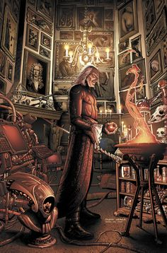 S.H.I.E.L.D. #∞- Leonardo Da Vinci, Isaac Newton, Nostradamus, and Nikola Tesla…
