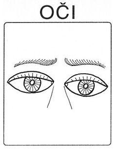 Části těla - oči