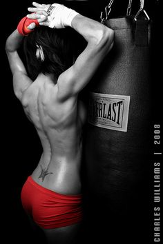 That is an amazing back! oh and yes this is a chick.......... props