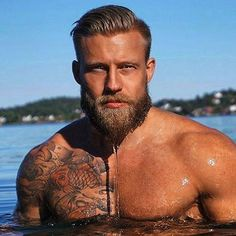 The Bearded Men is your one stop Beard Oil and Beard Grooming site to bring your beard needs to life. We have been successfully running for 3 years serving plus happy customers when means you can shop at The Bearded Men with a piece of mind. Handsome Men Quotes, Handsome Arab Men, Handsome Bearded Men, Bearded Tattooed Men, Viking Men, Men Quotes Funny, Sexy Beard, Man Beard, Epic Beard