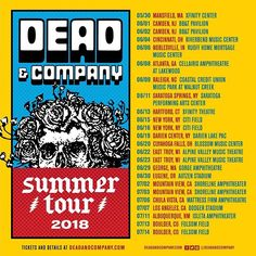Dead & Company Concert Tickets ~ Ruoff, Noblesville IN ~ 2 GA Lawn in Tickets & Experiences, Concert Tickets East Troy, Dead And Company, Go To High School, John Mayer, Concert Tickets, Grateful Dead, Cincinnati, Music, Fun Stuff