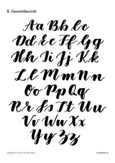 The Brush Lettering Guide for Beginners! You like the brush lettering . - The Brush Lettering Guide for Beginners! Do you like the brush lettering font style? Lettering Brush, Lettering Guide, Hand Lettering Alphabet, Creative Lettering, Lettering Styles, Brush Letter Alphabet, Letter Fonts, Handwriting Fonts Alphabet, Cute Fonts Alphabet
