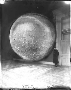 Field Columbia Museum Moon Model, 1898. The Field Museum Library. No known copyright restrictions.