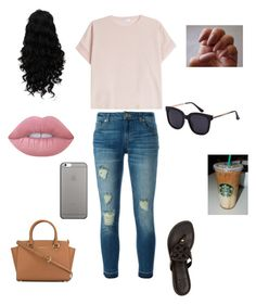 """""""Untitled #18"""" by marleykays on Polyvore featuring Brunello Cucinelli, MICHAEL Michael Kors, Tory Burch, Native Union and Lime Crime"""
