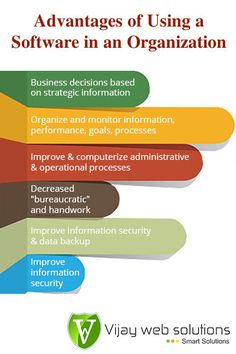 Benefits An Organization can Obtain by Using a Software in their Company.