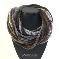 With all my heart . Scarf Necklace, Scarf Jewelry, Interweave Crochet, I Cord, Tube Scarf, Neckerchiefs, Neck Warmer, Vogue, Knitting