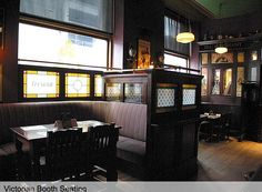 want the feel of an old victorian bar for the family den