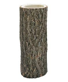 Look at this #zulilyfind! Rustic Tree Branch  6'' Candleholder #zulilyfinds