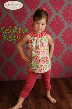 toddler girl clothes patterns   Clothing / Circle-Top Shirt PDF Pattern, Toddler Girl 12-18 months to ...