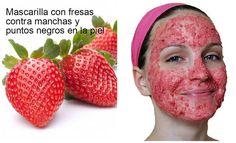 COSITAS CON MESH nos enseña a preparar una mascarilla para una piel perfecta gracias a la fresa.