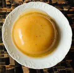 Pudim de Polpa de Fruta s/ açúcar, végan, s/ glúten