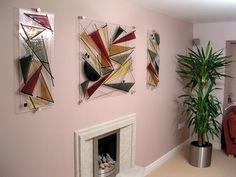 Wall panels   Melt Designs Glass Art