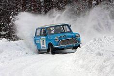 Mini Sideways on Snow - Winter Rallye