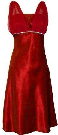 scarlet bridesmaid dress. WANT!