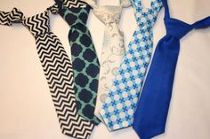 Adorable Baby Boy Tie - 6 months to 2T Assorted Colors