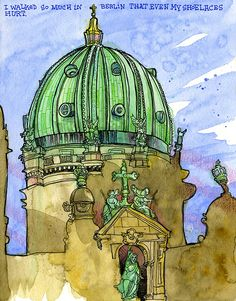 Tommy Kane's Art Blog: Berlin After The War