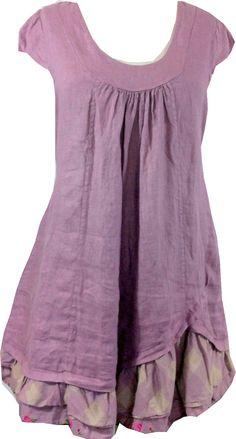 Robe ou tunique en lin