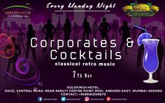 Corporates & Cocktails night is here to take your mind off the stressful Mondays. Unlimited Cocktails, martinis served with foot tapping music makes Café Mojo Mumbai the perfect place to be at this Monday Night. #Pubs #Party #Beer #Fun #Beers #Enjoy #GoodTimes #OntheBar  #Parties #PartyMusic #DrinkLocal #Music #Dance #Pub #Drinks #EatLocal  #BeerDrinks #Mumbai  #OnthePub  #Clubbing #Club