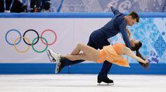 9 jaw-dropping photos that will make you believe in ice dancing - The Week - Azerbaijan: Julia Zlobina and Alexei Sitnikov.   (AP Photo/Darron Cummings)