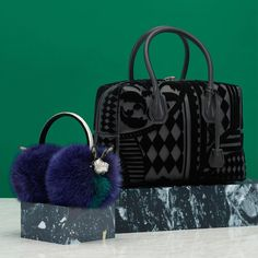 Two classic cool accessories for your winter look. Discover more in our Festive Gift Guide online. #MCMGiflList