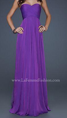 La Femme. Very similar to dress Jessica Alba wore to awards show
