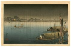 A River in the Rain - Koho Shoda