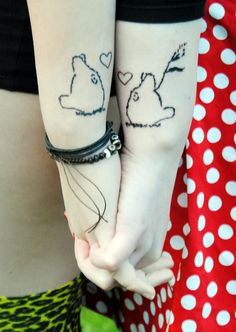 couples totoro tattoo... @Brenna Kisling TO-TO-RO!