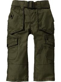 Belted Cargo Pants for Baby old navy