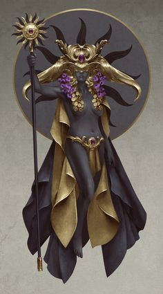 Sun Goddess by QuinnSimoes
