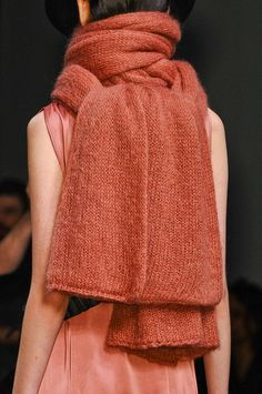 A.F. Vandevorst Fall 2012  I love the color and the idea of this, but it is too big for regular use.