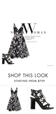 """""""Make a move"""" by agnesegundega ❤ liked on Polyvore featuring Erdem and Alexander Wang"""