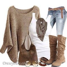 Nice fall outfit!