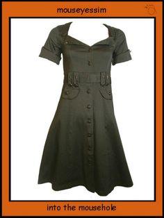 Living Dead Souls 40s Wartime Style Dress £44.99