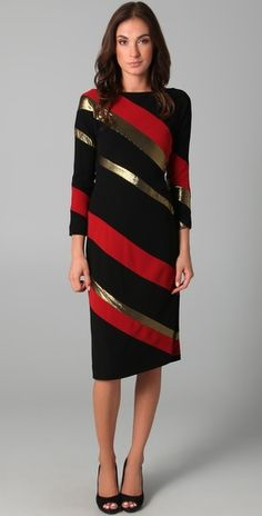 Diane von Furstenberg    Savannah Long Sleeve Dress