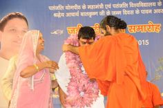 celebration of Aacharya Balrishna's birth Anniversary  at Patanjali Yogpeeth,Haridwar. #jadibootidiwas