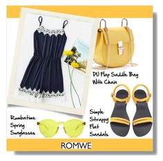 """Romwe"" by aminkicakloko ❤ liked on Polyvore featuring RumbaTime"