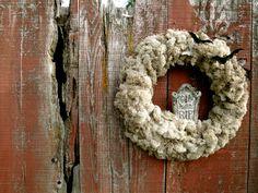 Halloween Wreath, Howling Moon Wreath.