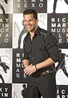 "Ricky Martin promotes his new album, ""Musica+Alma+Sexo"" in Madrid"