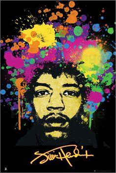 Jimi Hendrix - Splatters