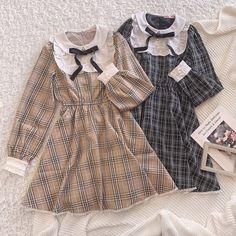 Kawaii Fashion, Lolita Fashion, Cute Fashion, Cute Casual Outfits, Pretty Outfits, Pretty Dresses, Korean Girl Fashion, Japanese Fashion, Old Fashion Dresses