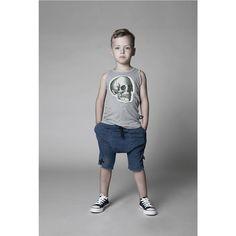 Nununu Terry Shorts in Denim - Cute Outfits For Kids, Baby Boy Outfits, Cute Kids, Cool Outfits, Stylish Boys, Kids Fashion Boy, My Baby Girl, Kids Wear, Clothes