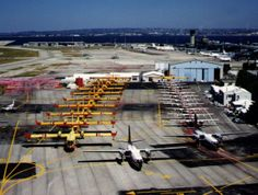 Canadair à l'Aéroport de Marignane