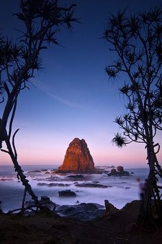 Papuma Beach, Jember, East Java -Indonesia