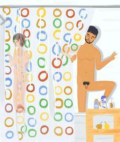 Illustrators, Shower, Kunst, Rain Shower Heads, Showers, Illustrations